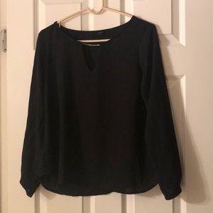 Black forever 21 size medium blouse